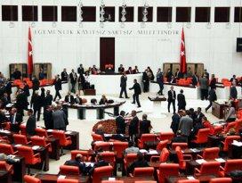 AK Partinin verdiği önerge kabul edildi!