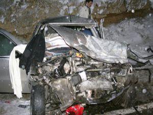 Konyada feci kaza: 1 ölü 4 yaralı