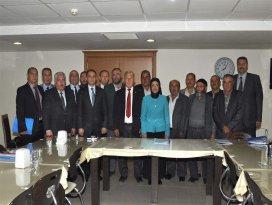 Meram'da mahalle istişare Meclisi toplantılarda