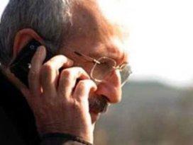 Kılıçdaroğlundan Arınça telefon