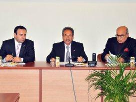 Başkan Akkaya Kent Konseyi toplantısına katıldı