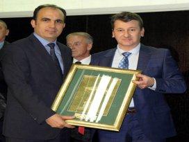 Başkan Altaya Altın Sebil ödülü