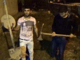 Suriyeliler ile mahalleli birbirine girdi: 4 yaralı