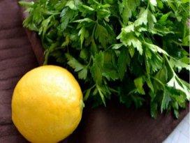 Maydanoz ve limon suyu zayıflatır mı?