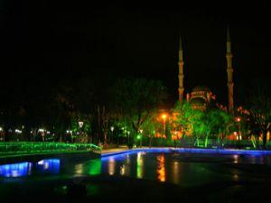 Hacıveyiszadeden gece manzaraları