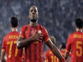 Drogba Galatasaraya veda etti