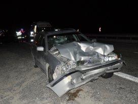 Konyada trafik kazası 7 yaralı
