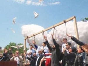 Mısır zindanlarına özgürlük güvercini