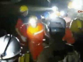 Somadaki madenin içinden ilk görüntüler
