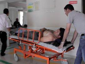 Kuluda motosiklet kazası: 1 yaralı