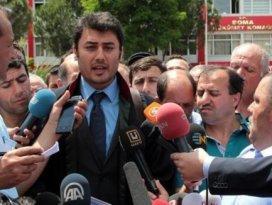 Şirketin avukatına vatandaşlardan protesto