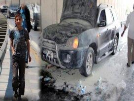 Yardıma 12 yaşındaki su satan çocuk yetişti!