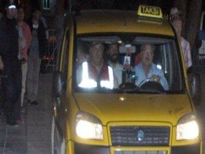 Somada taksiciyi kahreden yolcu