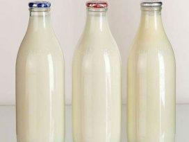 Sağlık için ambalajlı süt