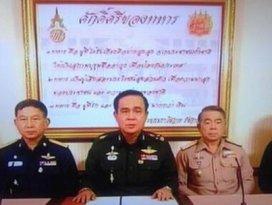 Taylandda ordu darbe yaptı
