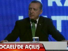 Erdoğan Fordun açılışında konuşuyor