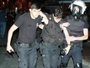 Polise bombalı saldırı: 7si polis 9 yaralı