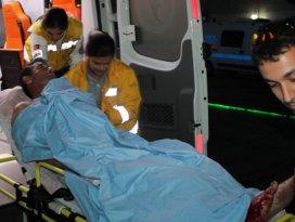Konyada aile kavgasında 1 kişi yaralandı