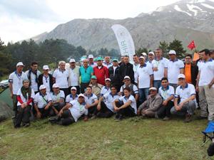 Anamasta dağcılık şenliği