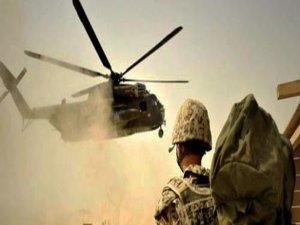 NATO helikopteri düştü: 1 ölü!
