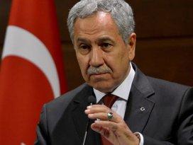 Başbakan Yardımcısı Arınçtan açıklama