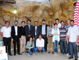 Gülbahçe Kafe  Konya basınını misafir etti