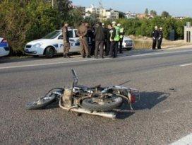 2 motosiklet çarpıştı: 1 ölü
