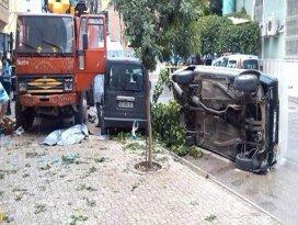 Konyada kamyon yayalara çarptı: 1 ölü, 2 yaralı