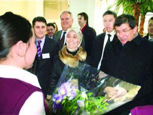 Kazak öğrencileri Konyaya davet etti