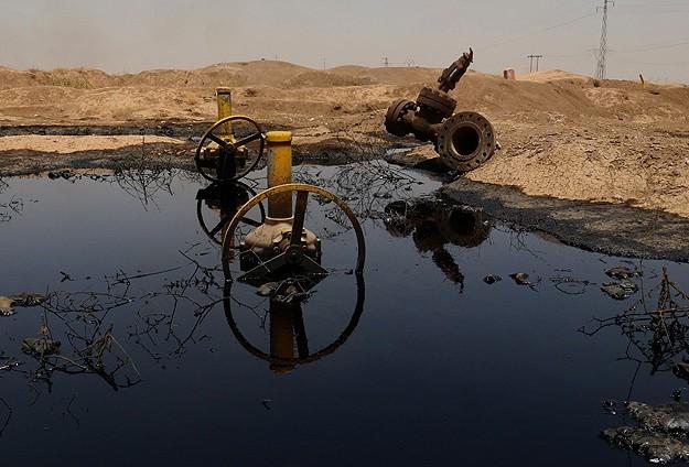 Kerkükte petrol boru hatları hırsızların hedefi oldu