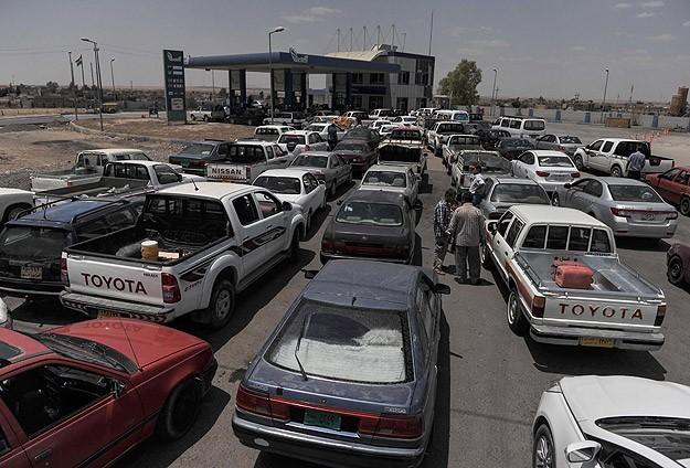 Erbil çevresinde akaryakıt krizi