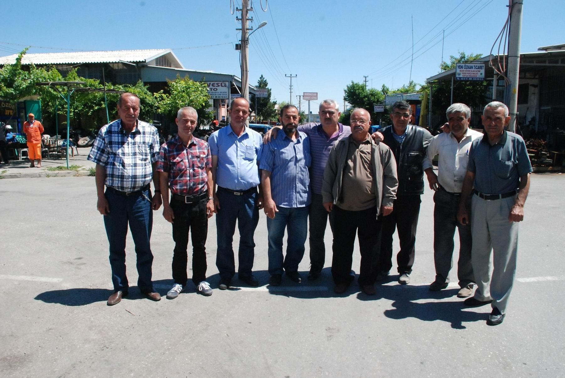 Hurdacılardan Karatay belediyesine teşekkür