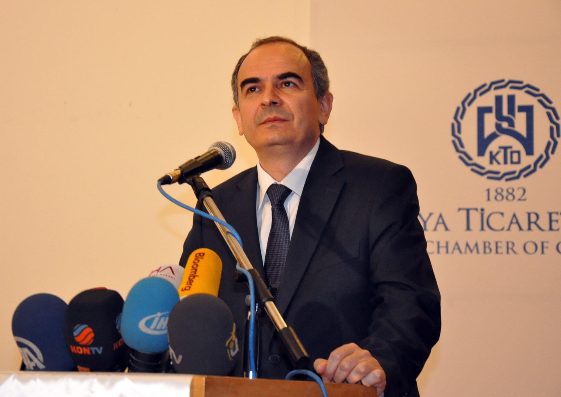Merkez Bankası Başkanı Erdem Başçı Konyada