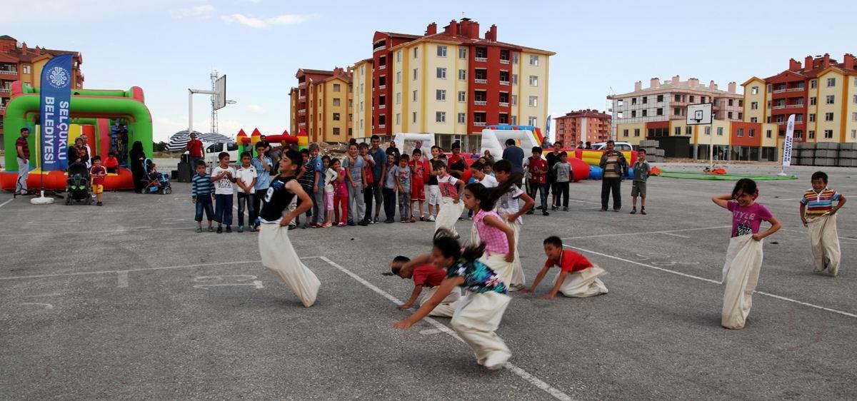 Selçuklu belediyesinden karne festivali