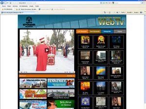 Beş dilde web tv yayını