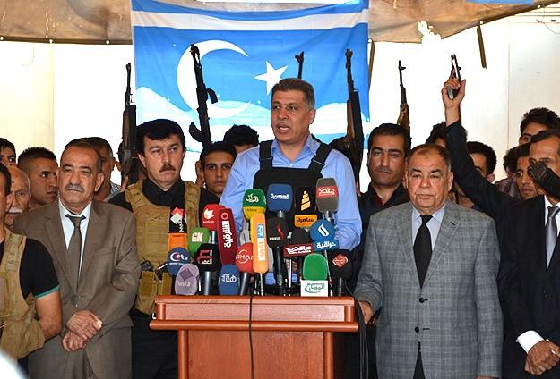 Türkmenler IŞİDe karşı silahlanıyor