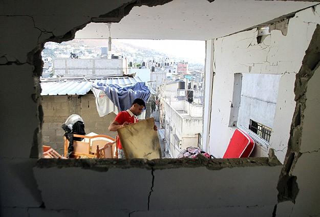 Batı Şeriadaki baskınlarda evler zarar gördü