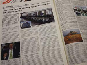 Konya Ticaret Borsası Alman basınında