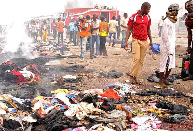 Nijeryada maç izleyenlere bombalı saldırı