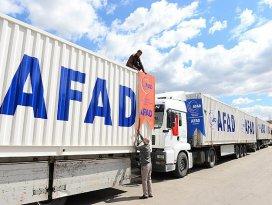 AFADdan Iraka insani yardım