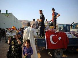 Türkiyeden Iraktaki Türkmenlere yardım eli