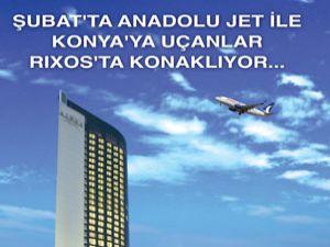 Anadolujetten Konyaya uçanlara özel fırsat