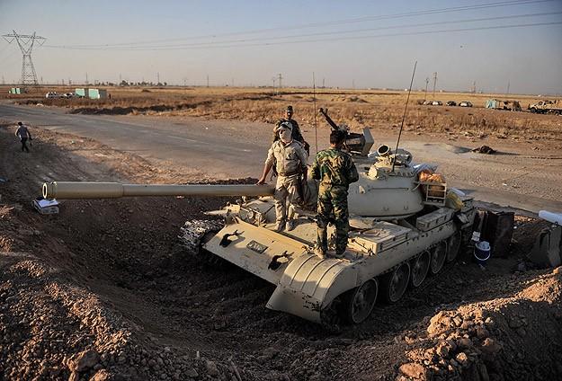 Peşmerge tek başına IŞİDe karşı mücadele ediyor