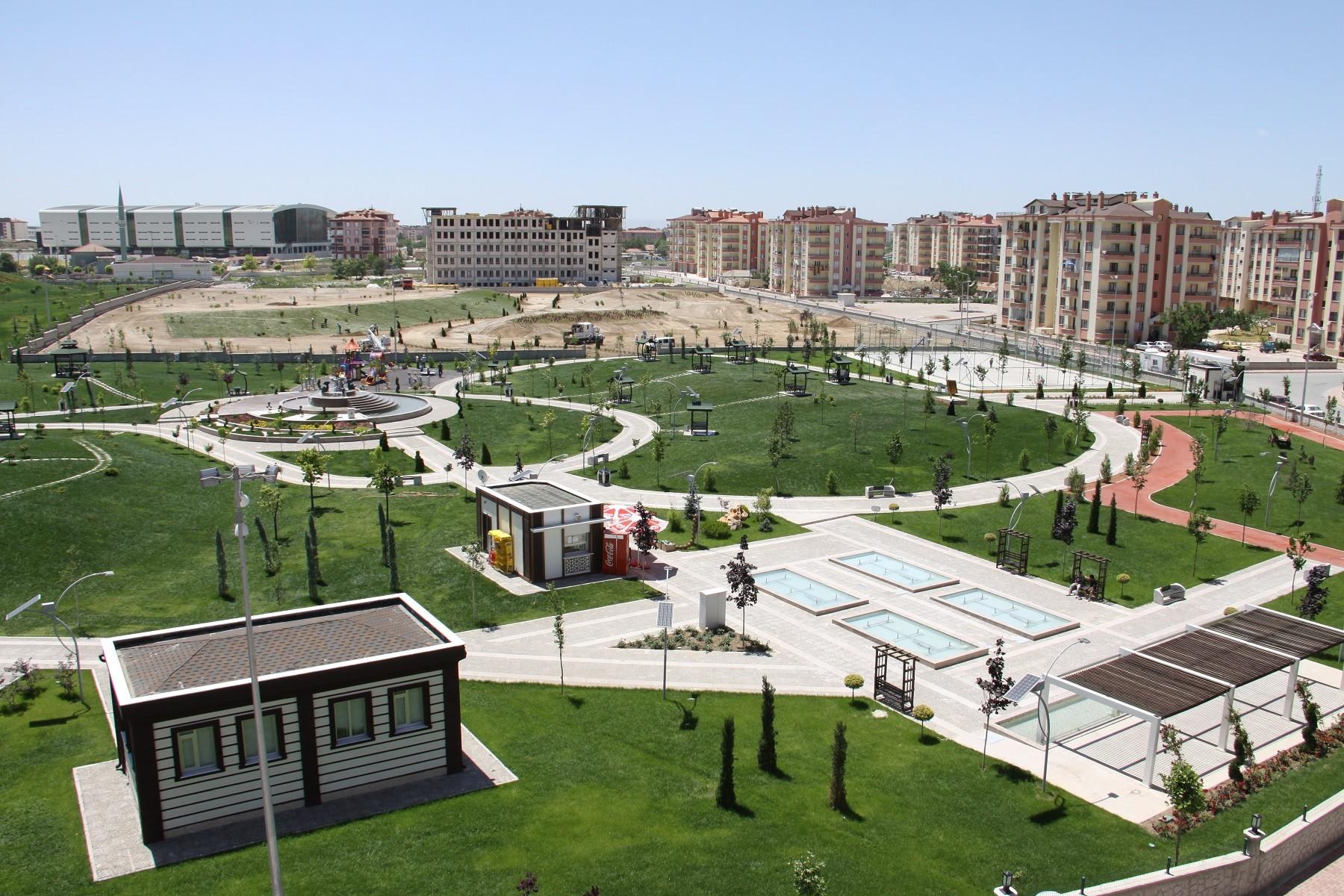 Karatayda Muhsin Yazıcıoğlu parkı genişletildi