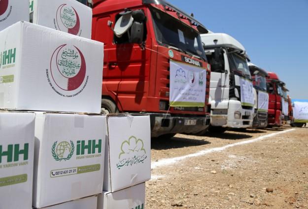 İHHdan Gazzelilere ramazan ayı kumanyası