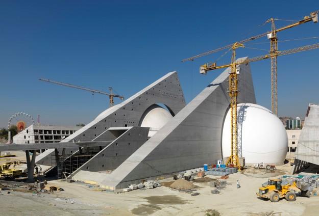 CSO Konser Salonu inşaatı devam ediyor