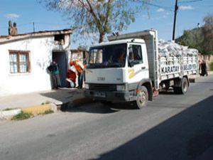 Seydişehirde 1600 aileye kömür yardımı