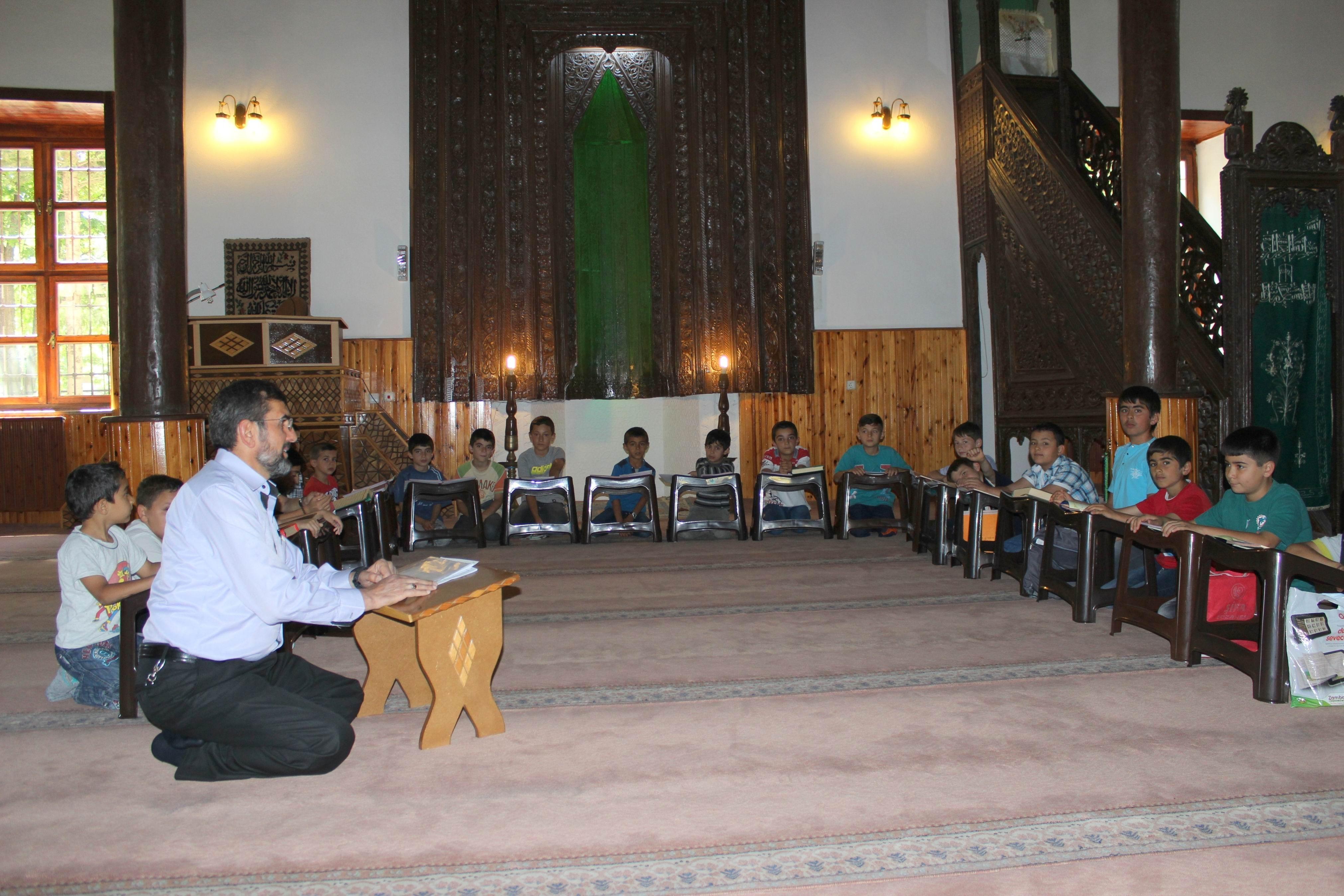 Seydişehirde yaz Kuran kursları başladı