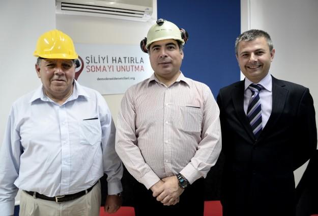 Şilili madenciler Türkiyede
