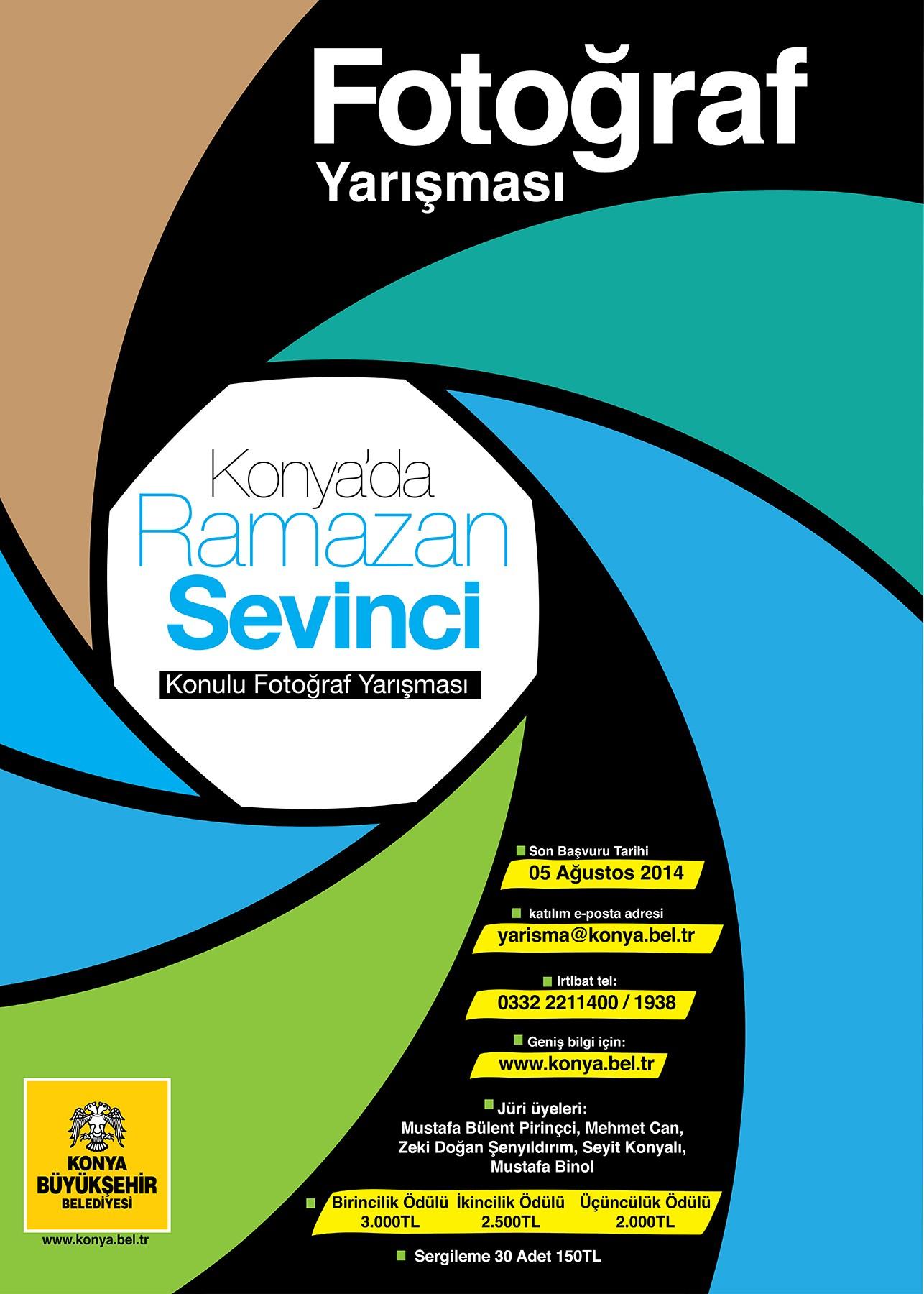 Konyada Ramazan Sevinci konulu fotoğraf yarışması